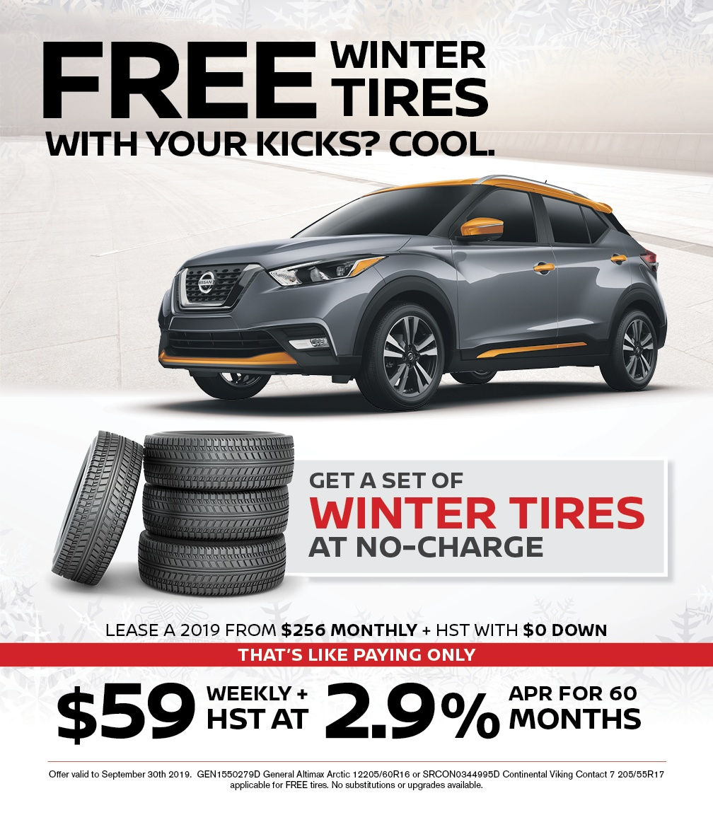 Nissan Winter Tires