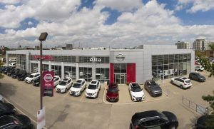 Exterior shot of Alta Nissan Woodbridge